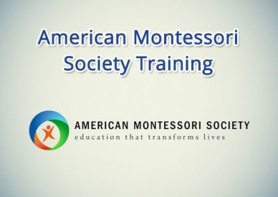 American Montessori Society Training