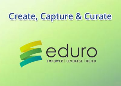 Create, Capture, and Curate