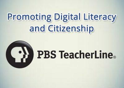 Promoting Digital Literacy and Citizenship