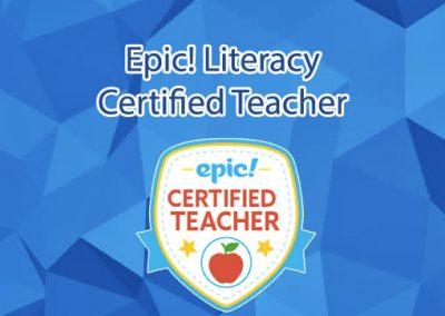 Epic! Certified Teacher