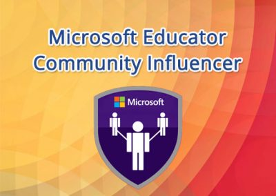 Microsoft Educator Community Influencer