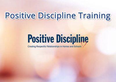 Positive Discipline Training