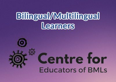 Bilingual Multilingual Learners