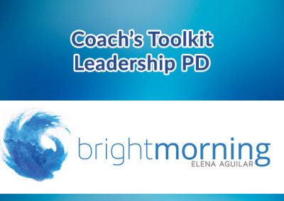 Coach's Toolkit Leadership PD