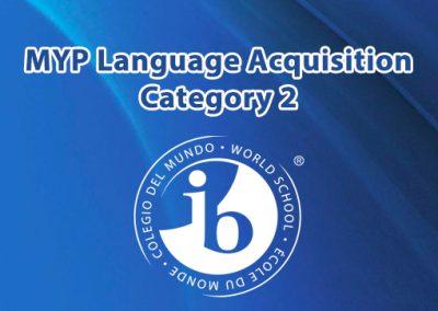 IBO MYP Language Acquisition